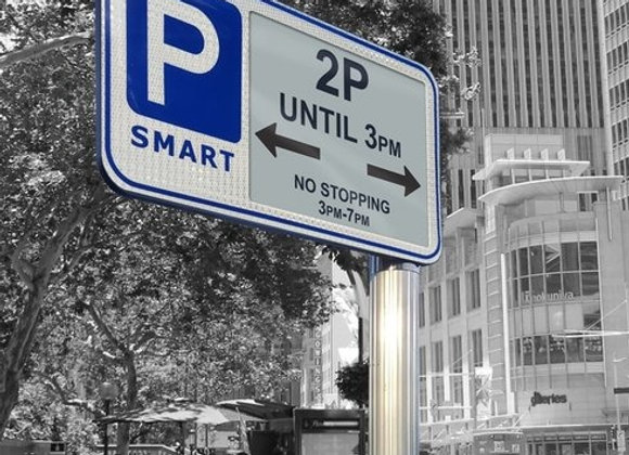 ePaper Traffic & Parking Signs