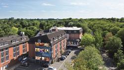 Hotel Munte am Stadtwald  Aussenaufnahme
