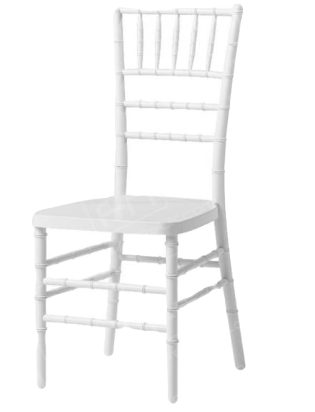 Tiffany Chairs White or Black