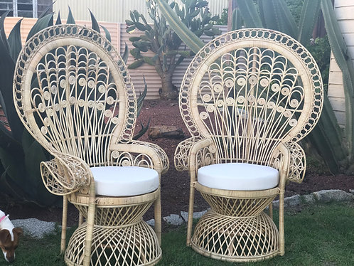 Mr & Mrs Peacock Chairs