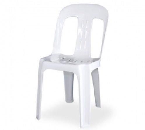 White Pipi Chair