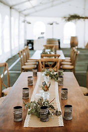 DD EVENT HIRE Field Clark Wedding Timber tables.jpg