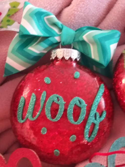 "4"" Christmas Ornaments"