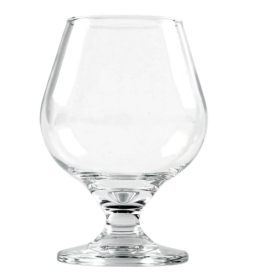 Clear Glass Brandy Snifters, 11.5 oz.