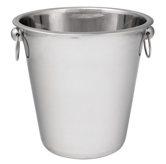 Smooth Stainless Steel Wine / Champagne Bucket