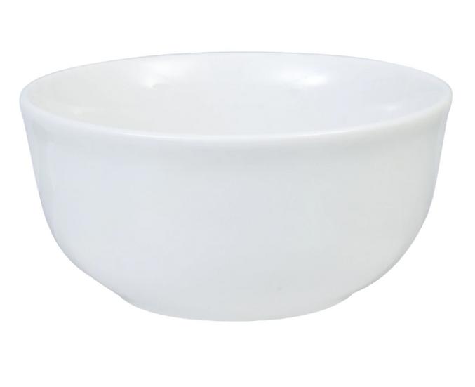 Classic White Stoneware Bowls, 6 in.