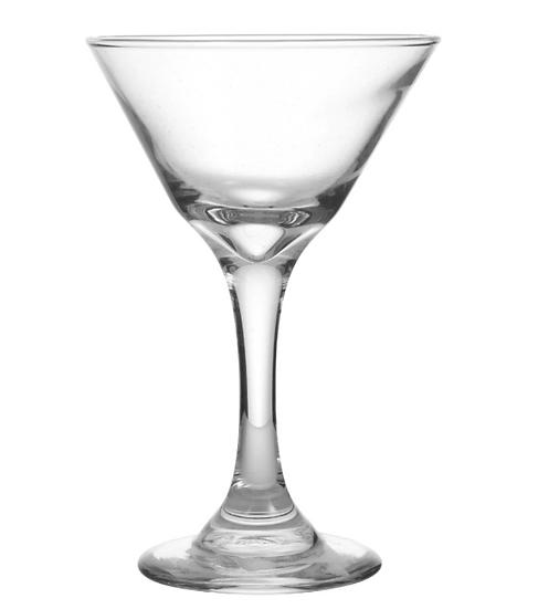 Glass Martini Glasses, 7.5 oz.