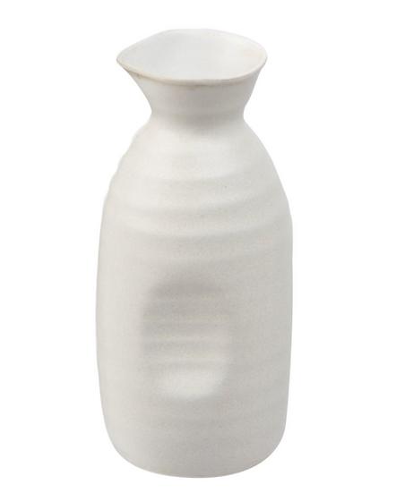 11 oz. White Stoneware Bottle