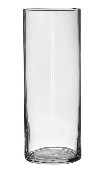 Glass Cylinder Vases, 9 in.