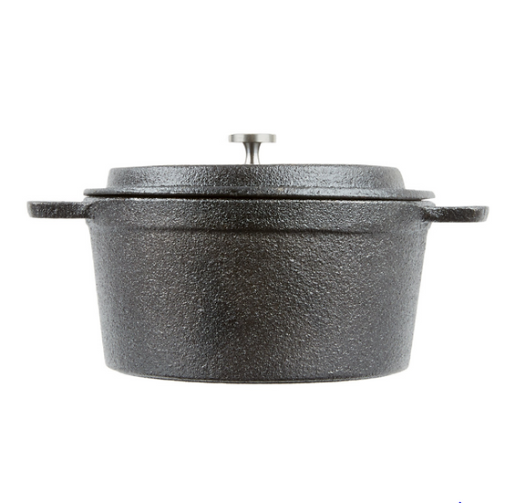 Mini Cast Iron Pot with Cover