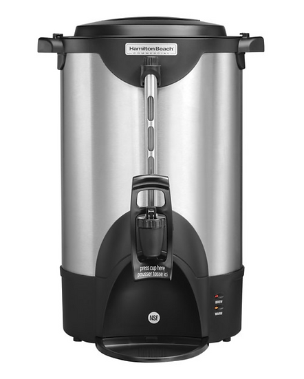 Double Wall Stainless Steel Coffee Urn