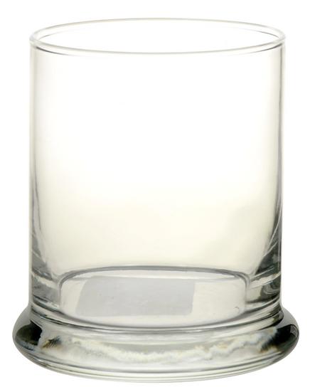Rocks Glass Candleholders, 4 in