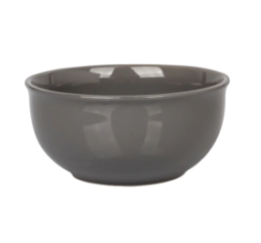 Gray Stoneware Bowls, 6 in.