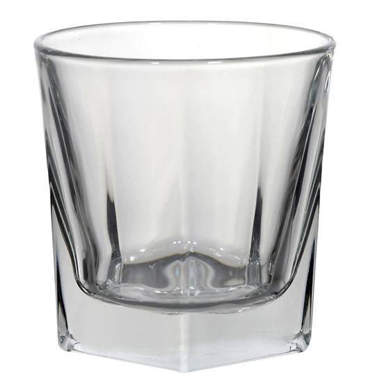Faceted Bourbon Rocks Glasses, 12.25 oz.