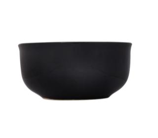 Black Stoneware Bowls, 6 in.