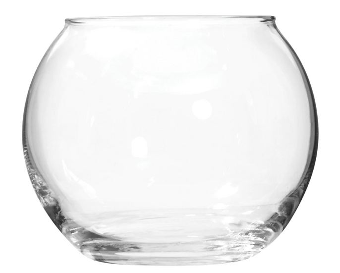 Round Glass Candleholders, 3.5 in.