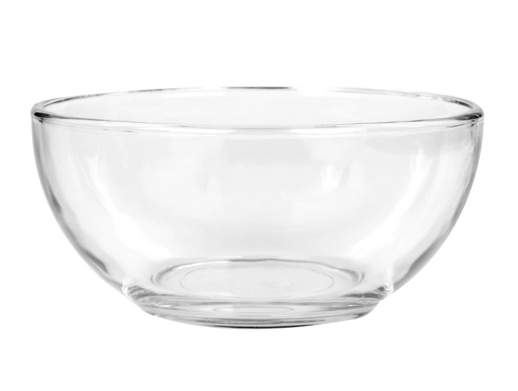 Clear Glass Bowls, 6 in.