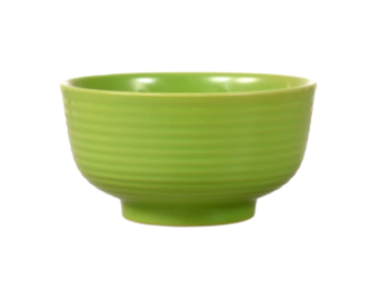 Lime-Green Solid Stoneware Bowls, 6 in.
