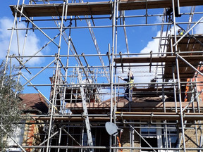 Scaffolding in action!