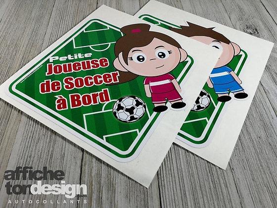 Petit(e) joueur(euse) de soccer