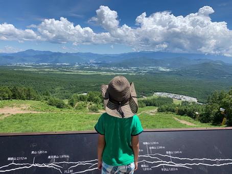 八ヶ岳へ10tトラックで観光に行ってきました。