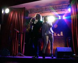 С певицей Натальей Соловей