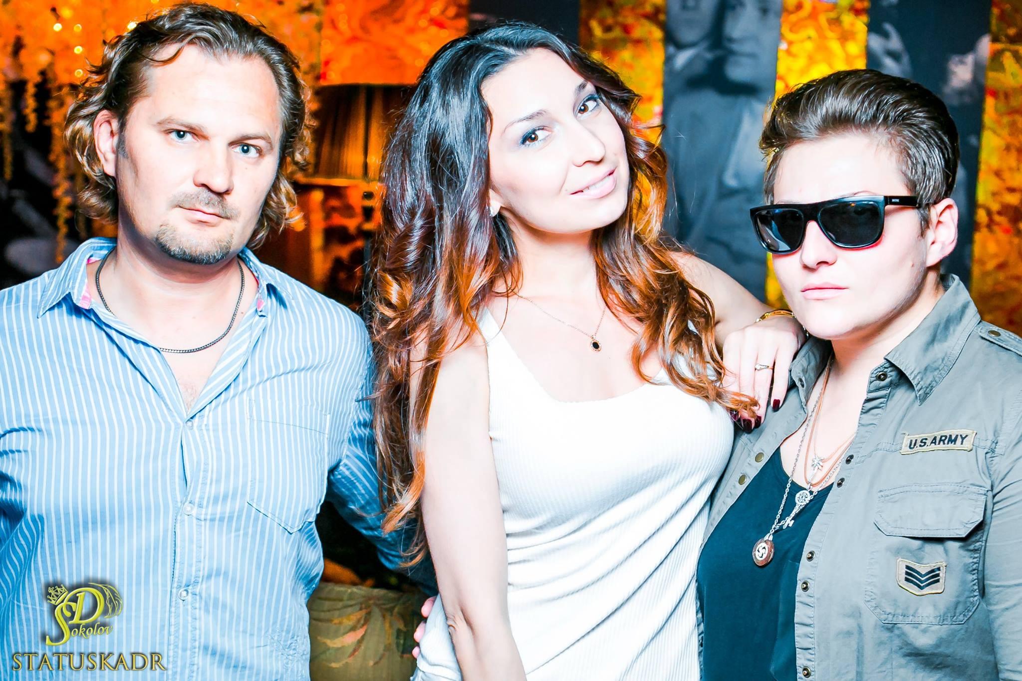 С певицами Дилей Даль и СьюZ