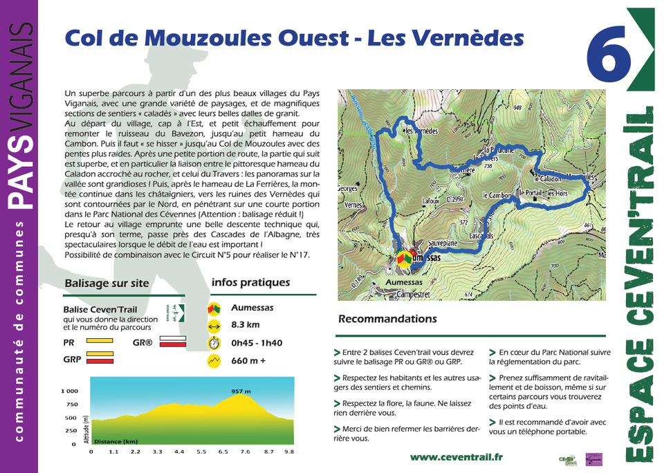 6- Col de Mouzoules-Ouest Le Caladon Les Vernèdes