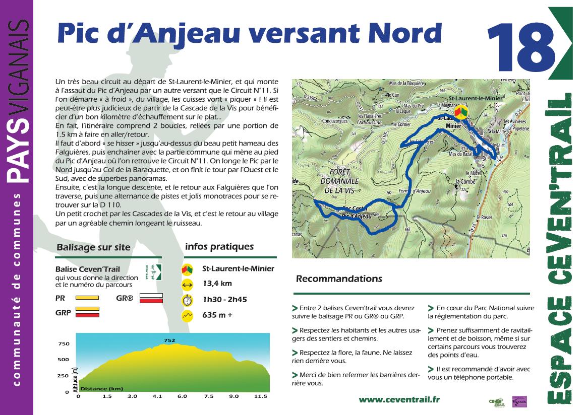 18- Pic d'Anjeau versant Nord
