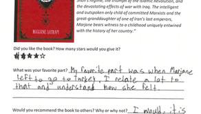 Book Club Review - Persepolis