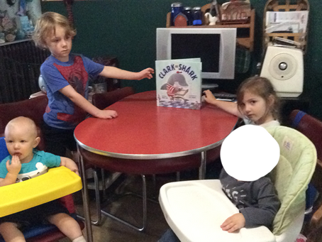Submitted Picture - Clark the Shark: Storytime at Home!