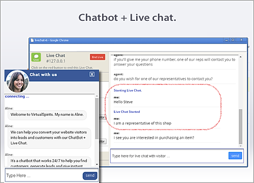 ChatBot and LiveChat Overview | WIX App Market | Wix com
