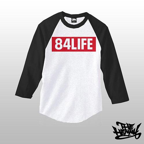 84 LIFE Baseball tee