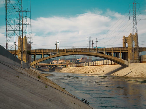 """LA RIVER"" 12X14 LIMITED PRINTS"