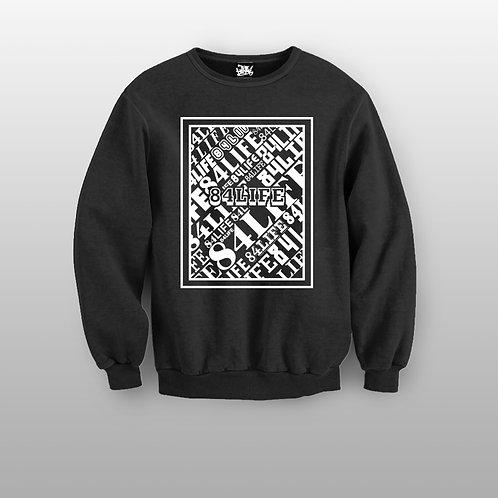 84 LIFE Box Crewneck Sweater