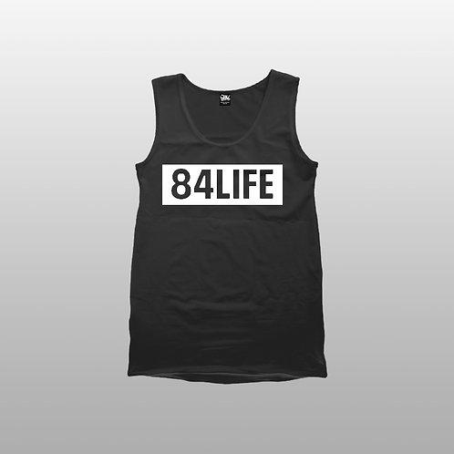 84 LIFE Mens tank tops
