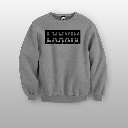 Roman Numerals Crewneck Sweater