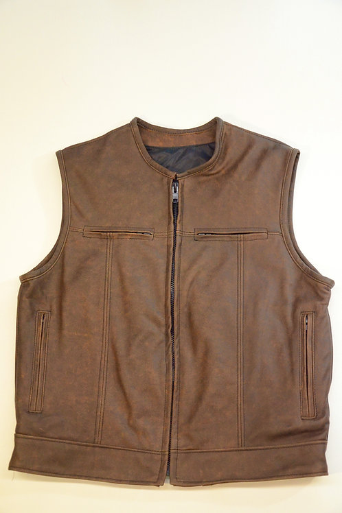 396Z - Mens Vest - Distressed
