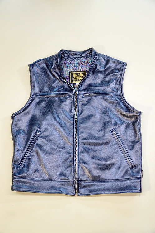 396Z - Mens Leather Vest