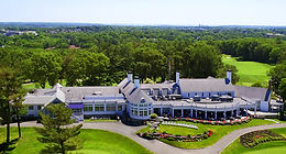 Drone Aerial View Salem Country Club