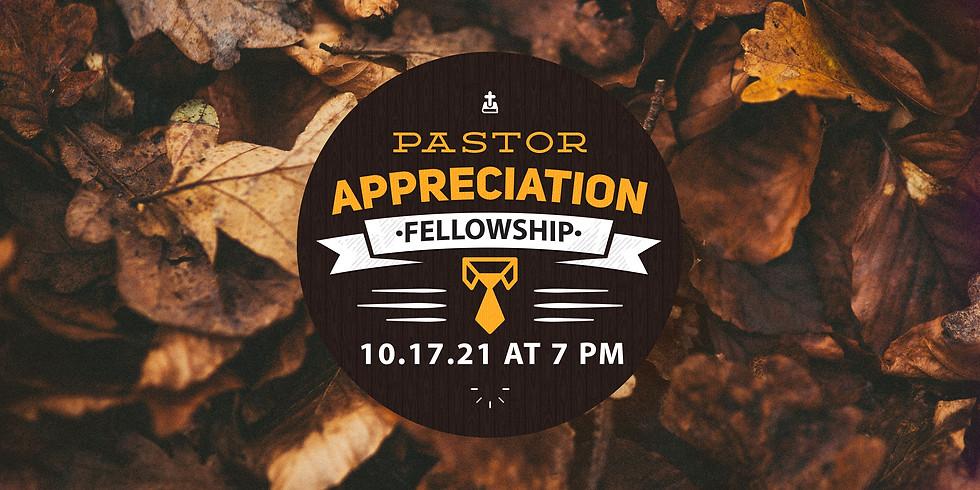 Pastor's Appreciation Fellowship