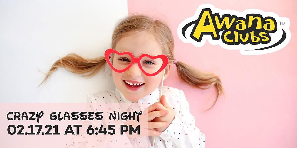 AWANA Crazy Glasses Night