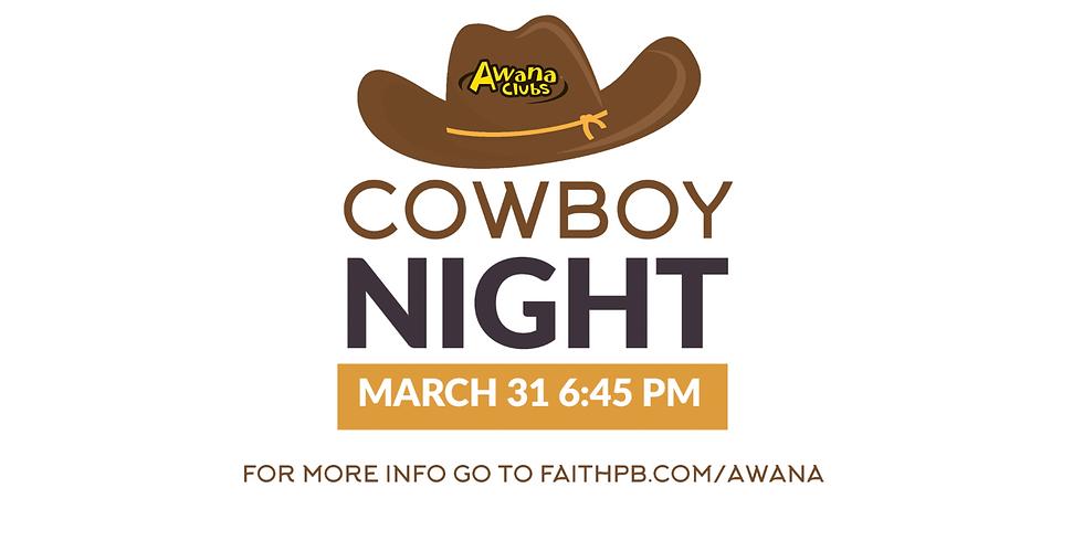 AWANA Cowboy Night