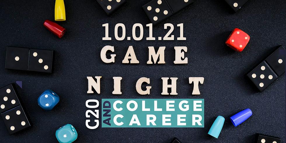 C20 Game Night (College & Career)