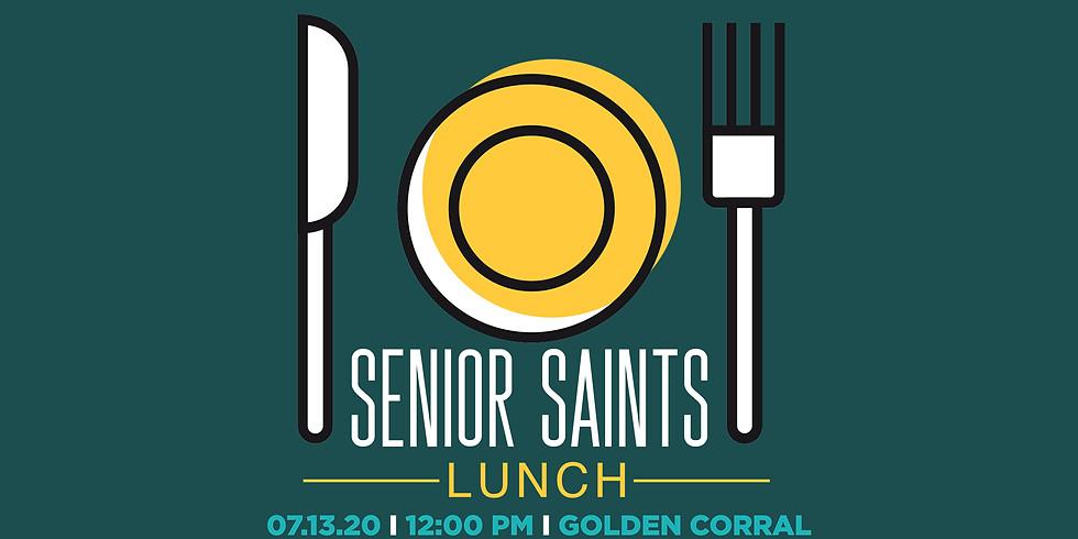 Senior Saints Lunch