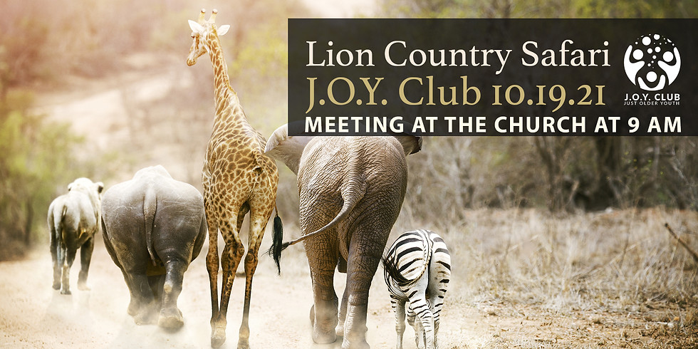 J.O.Y. Club Lion Country Safari