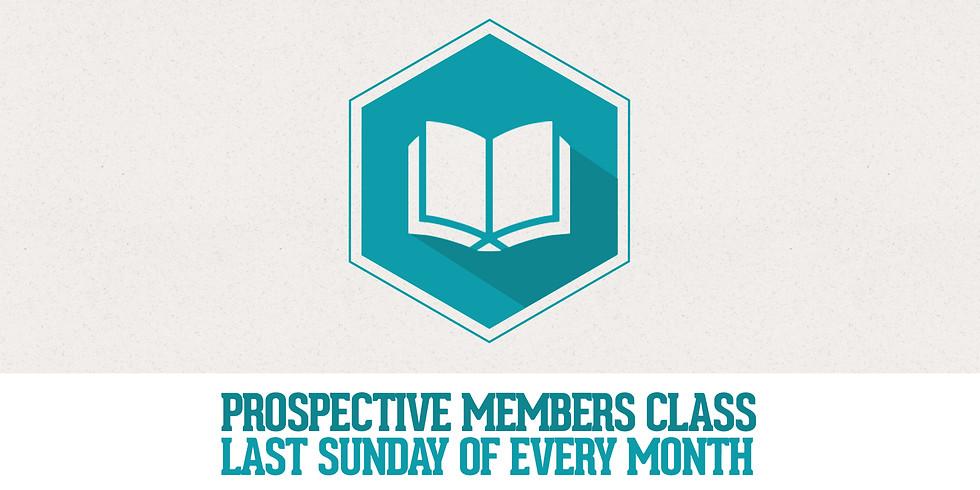 Prospective Members Class