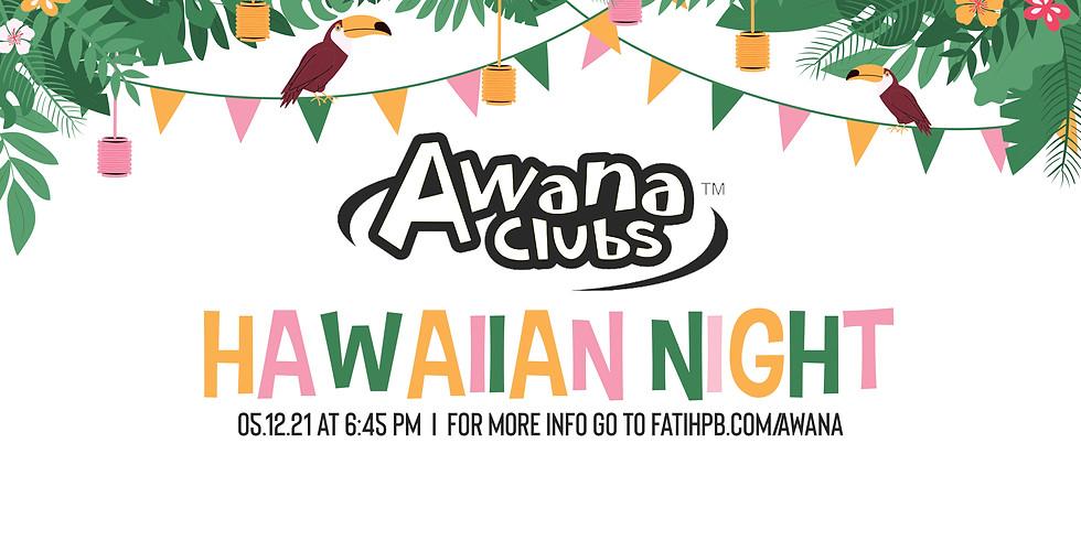 AWANA Hawaiian Night