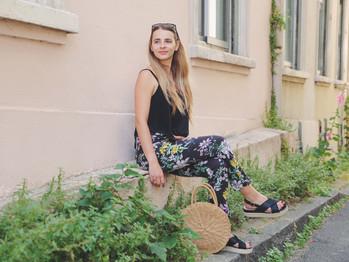 Un basique de la garde robe : le pantalon tailleur