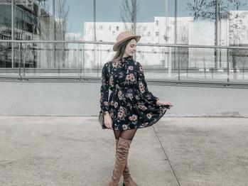 La robe printanière